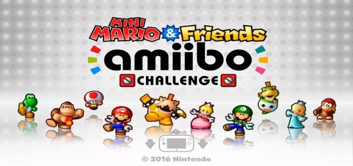 Mini Mario and friends amiibo challenge