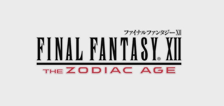 Final Fantasy XII The Zodiac Age -720x340